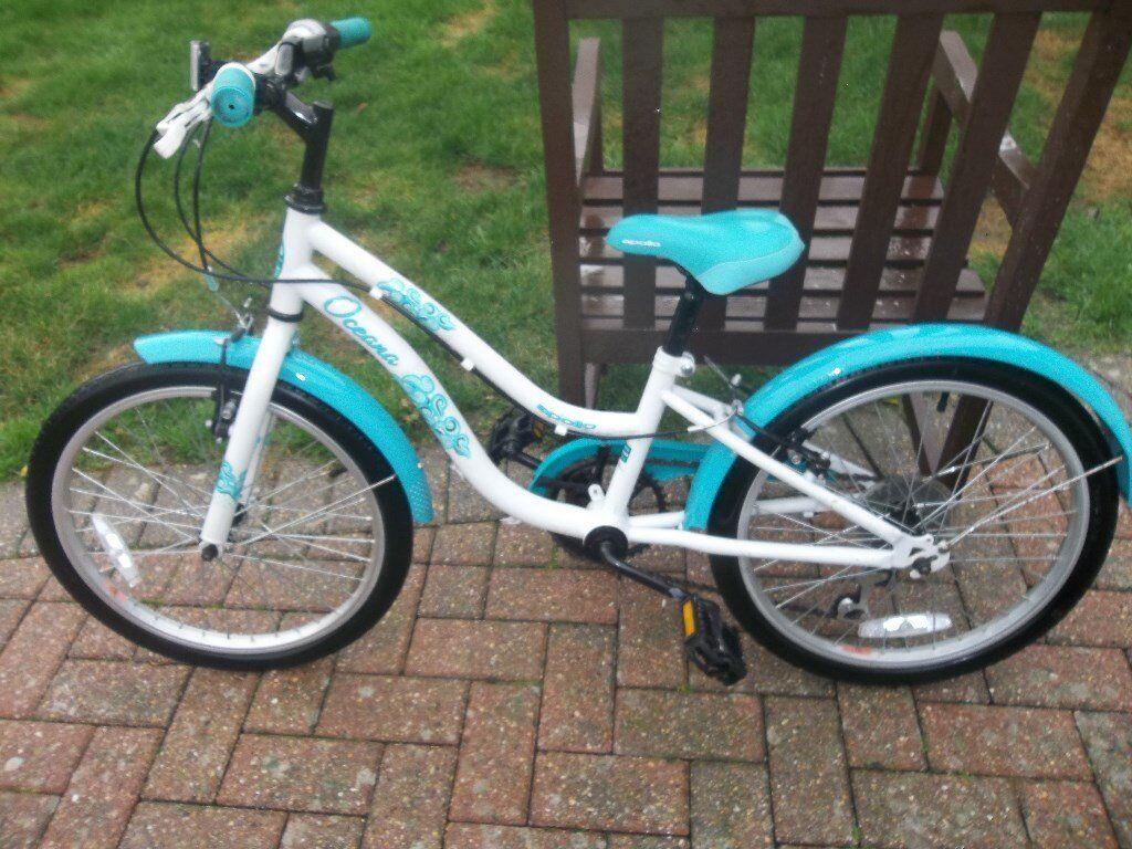 edf4af2962b Apollo Oceana Girls Kids Childrens Hybrid Bike 6 Speed 20 quot  Inch ...