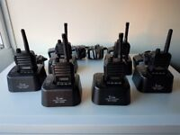 Icom Radios with chargers