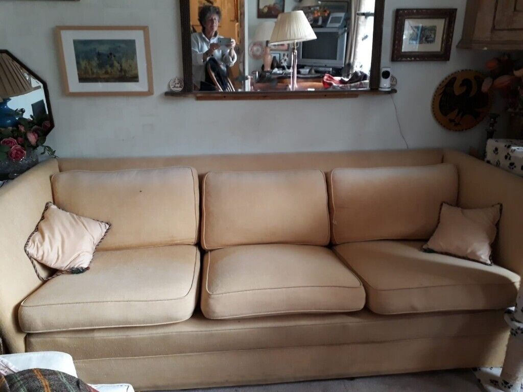 Classic Design Furniture London large comfortable sofa, classic design and timeless | in fulham, london |  gumtree