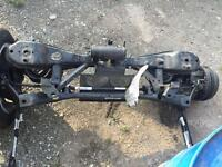 Ford Focus 2015 1.0 ecoboost rear axle complete
