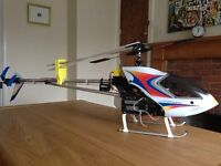 Never Used Hirobo Sceadu .30 RC Helicopter, Controller and Spares!