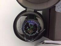 New Swiss Tag Heuer Grand Carrera Mercedes Benz SLS Tourbillon Automatic Watch, Rubber Strap