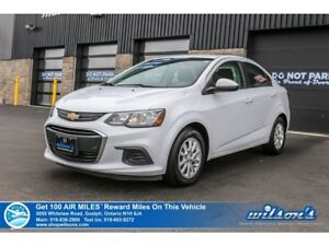 2017 Chevrolet Sonic LT | APPLE CARPLAY + ANDROID AUTO | REMOTE