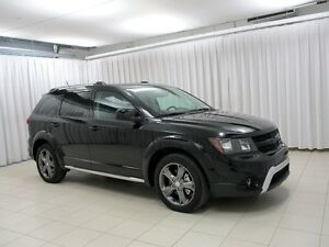 2017 Dodge Journey CROSSROAD AWD 7PASS SUV w/ HEATED SEATS / STE