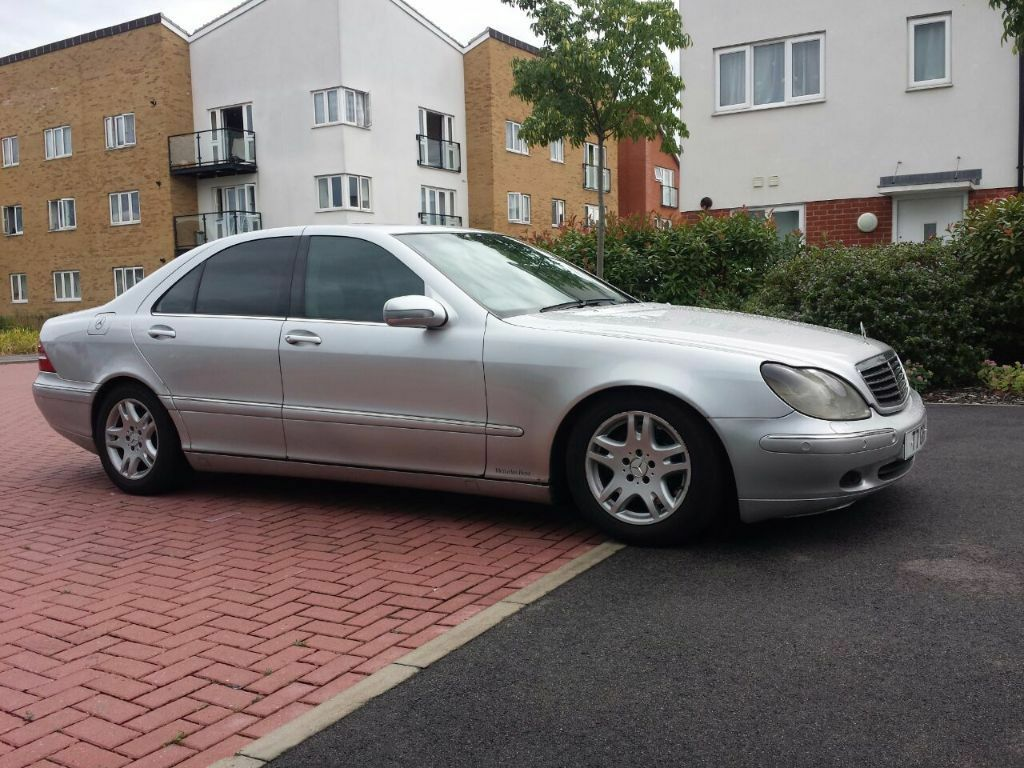 Mercedes s class s320 cdi w220 2001 in rayleigh essex for Mercedes benz s class 2001