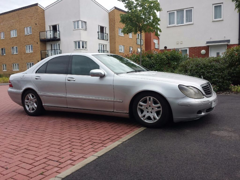 mercedes s class s320 cdi w220 2001 in rayleigh essex gumtree. Black Bedroom Furniture Sets. Home Design Ideas