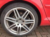 """Audi Alloys RS4 style 18"""" 5x112 SEAT & VW ALLOYS"""