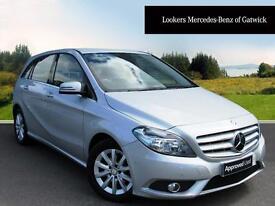 Mercedes-Benz B Class B180 CDI BLUEEFFICIENCY SE (silver) 2014-04-30