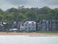 Seafront ground floor flat - CANCELLATION W/B 2 JULY 16 - a lovely flat with stunning views to Fife