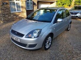 2007 Ford Fiesta 1.4 Silver with Very low mileage