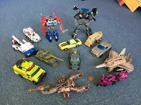 Transformers toy collection