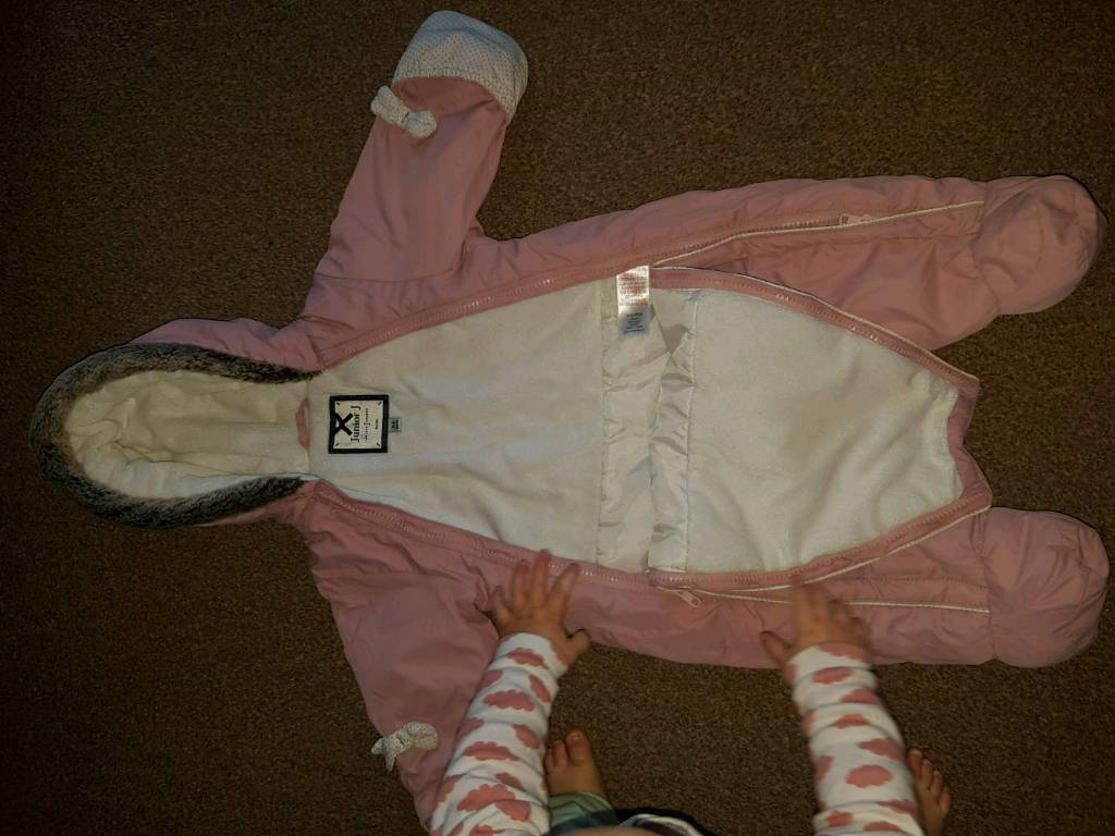 fe5b7aa87 Baby girl snow suit 3-6 m | in Melton Mowbray, Leicestershire | Gumtree