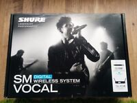 SHURE GLXD4/ SM 58 in Perfect condition. Can be POST !!