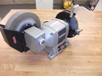 Wet and Dry Bench Grinder, 230 Volts, 370 Watts,