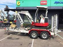 Takeuchi TB23R & Auswide 004-0 Aluminium Trailer Package Welshpool Canning Area Preview