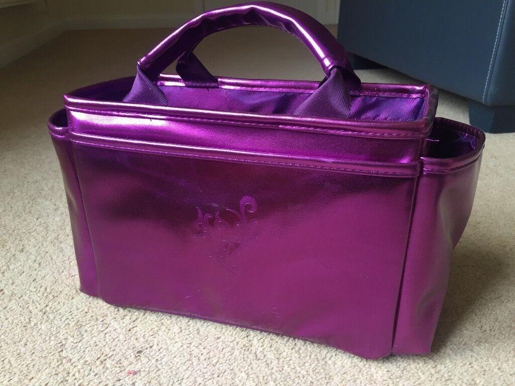 Purple 'YOUNIQUE' Make Up Bag – Storage Bag
