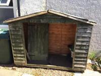 Garden shed (bike shed)