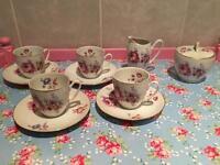 Vintage Bohemian Tea Coffee Set