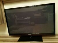 Samsung 43 TV plasma has Freeview hdmi and is 3D capable