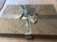 Wedding dress box from The Empty Box Conpany