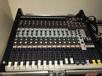 SoundCraft EFX 12 With Hard Case