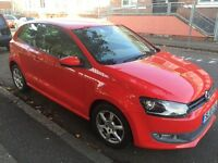Polo 1.2 Moda 3D, A/C Red. Excellent condition. Low milleage. £5000 O.N.O