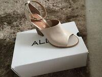 Never been worn - still in box! Aldo beige leather mules size uk5.5