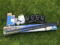 Halfords square roof bars B and fitting kit M500