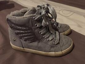 Next High Top Trainers Size 8