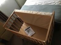 Saplings Space Saver Cot including Mattress - Collection only