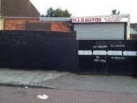 WORKSHOP , STORAGE , INDUSTRIAL UNIT TO LET / RENT
