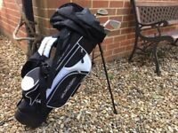 Right Hand 4 Club Golf Set for 6 to 8 year old including Bag