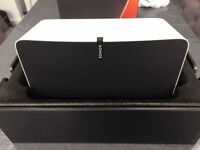 Sonos Play 5 (5 Months Old) - White 2nd Generation - Only used once for testing