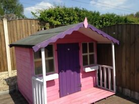 6' x 6' children's playhouse