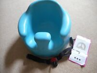 Bumbo blue, with straps, very good condition