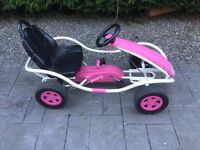 Kettler Pink Pedal Go Kart