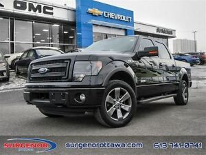 2014 Ford F-150 4x4 - Supercrew Fx4 - 145 WB - $250.04 B/W