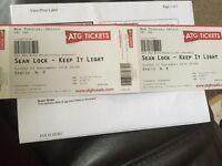 Sean lock tickets