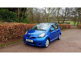 2010 TOYOTA AYGO 1.0 BLUE NATIONWIDE DELIVERY WARRANTY CARD FACILITY AVAILABLE