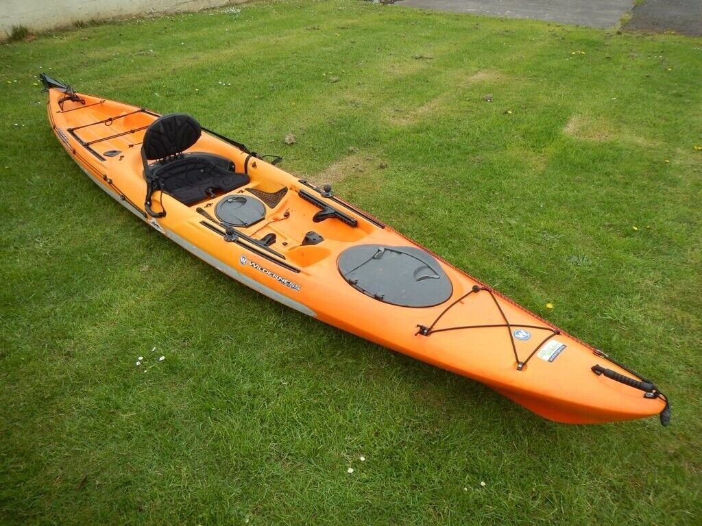 Wilderness Systems Tarpon 140 Sea Fishing Kayak – sit on top, rod holders,  lifejacket, rudder | in Dumfries, Dumfries and Galloway | Gumtree