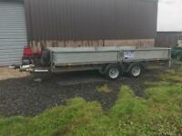 ivor williams 14ft trailer 2017 no vat with ramps