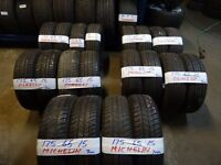 175 65 15 matchin sets contis dunlops pirellis hankooks michelins alll 6mm(LOADS MORE AV 7-DAYS)