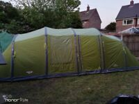 Vango Centara 800 Airbeam - Quick set up - Large 2 bedroom 8 man Tent *USED ONLY ONCE!!*