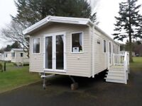 Cheapest New Static caravan for sale fully sited and connected Northumberland, County Durham, Beach
