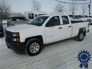 2014 Chevrolet Silverado 1500 WT Double Cab 2WD with 4.3L V6