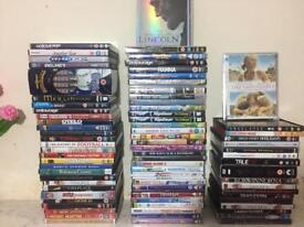 Approximately 90 Movies DVD's and some pc games cd's. Job lot offer.