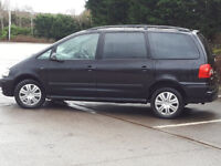 Volkswagen-Sharan-S-TDI-DIESEL AUTOMATIC MPV 7 seater picasso scenic c4 espace zafira Citroen