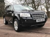 Landrover Freelander HSE TD4 2.2 Auto. Sublime cream leather