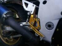 Harris rear sets