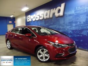 2017 CHEVROLET CRUZE Premier cuir mags
